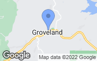 Map of Groveland, CA