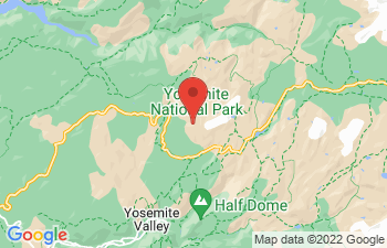 Map of Yosemite Area