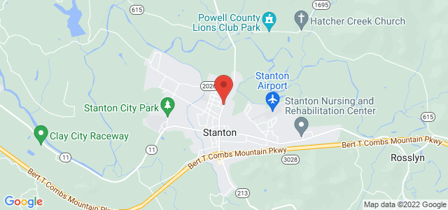 Stanton Florists Map