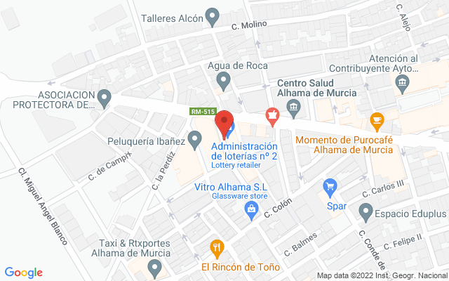 Administración nº2 de Alhama de Murcia