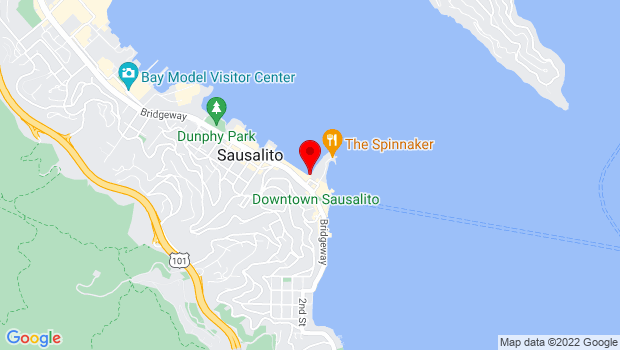 Google Map of 100 Bay Street, Sausalito, CA 94965