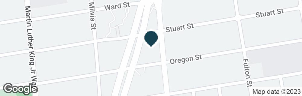 Google Map of2801 ADELINE ST