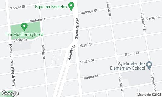 Map of Kirala at 2100 Ward St Berkeley, CA