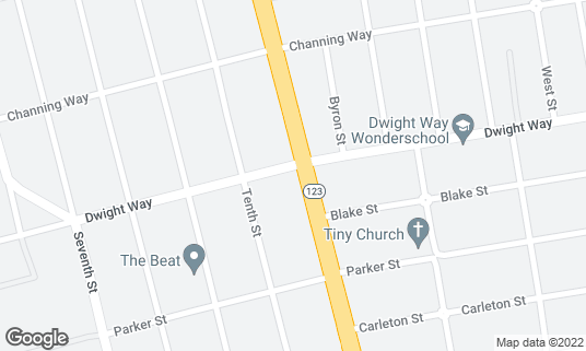 Map of Caffe Trieste at 2500 San Pablo Ave Berkeley, CA