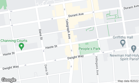 Map of Cafe Intermezzo at 2442 Telegraph Ave Berkeley, CA