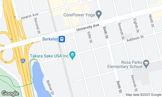 Map of Sierra Nevada Torpedo Room at 2031 4th St Berkeley, CA
