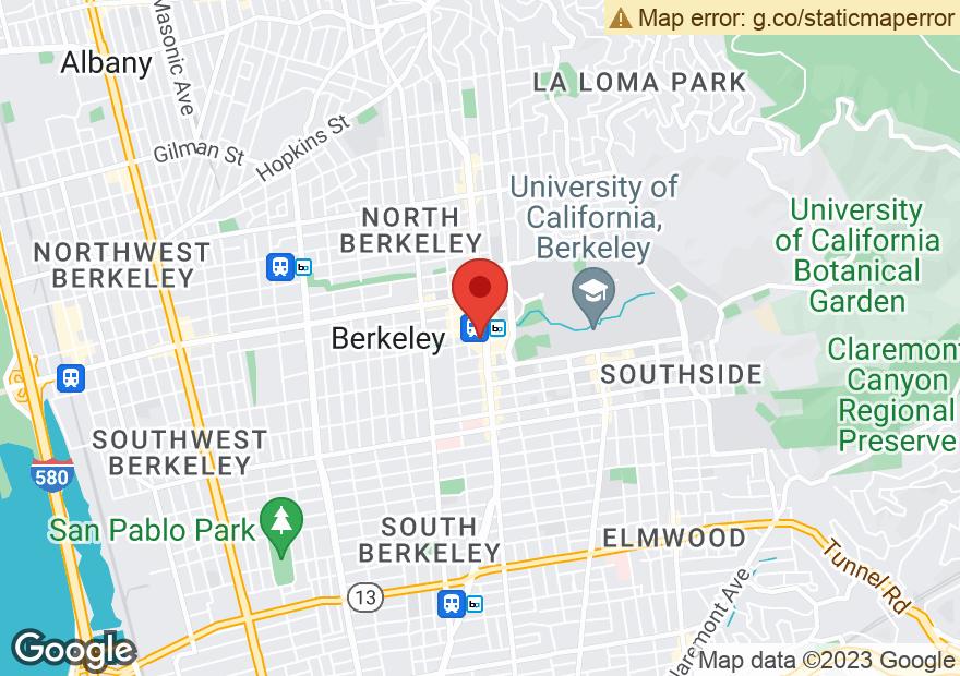 Google Map of 2190 SHATTUCK AVE
