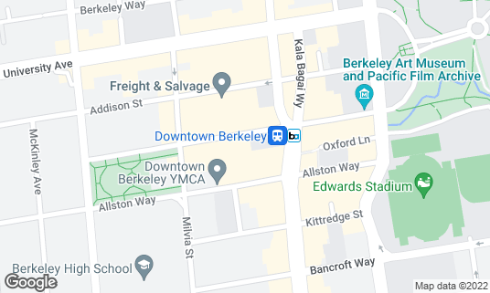 Map of Eureka! at 2068 Center St Berkeley, CA