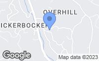 Map of Orinda, CA