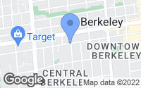 Map of Berkeley, CA