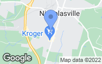 Map of Nicholasville, KY