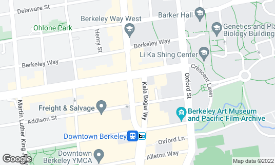 Map of 85C Bakery Cafe at 21 Shattuck Sq Berkeley, CA