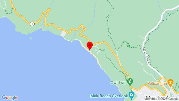 Google Map of 2025 Shoreline Highway, Sausalito, CA 94965