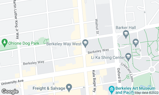 Map of Triple Rock at 1920 Shattuck Ave Berkeley, CA