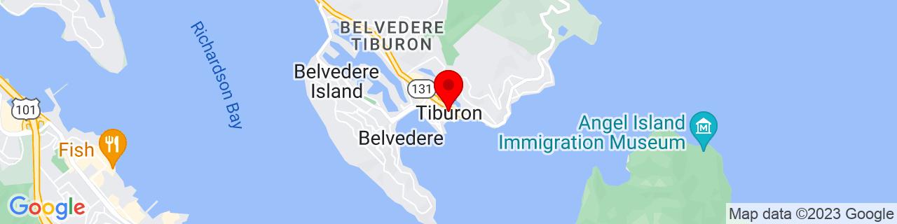 Google Map of 37.87361111111111, -122.45666666666666