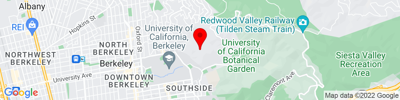 Google Map of 37.8759277, -122.2500274
