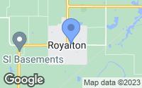 Map of Royalton, IL