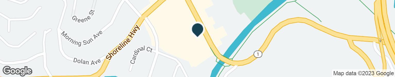 Google Map of227 SHORELINE HWY