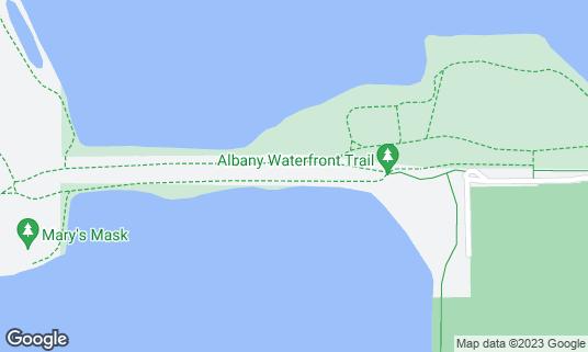Map of Albany Bulb at 1 Buchanan St Albany, CA