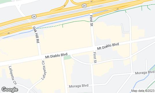 Map of Metro Lafayette at 3524 MT Diablo Blvd Lafayette, CA