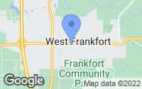 Map of West Frankfort, IL