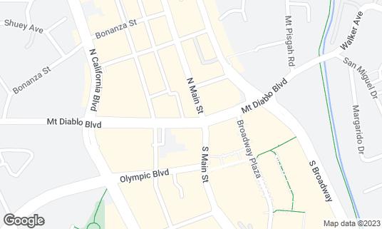 Map of Telefèric Barcelona at 1500 MT Diablo Blvd Walnut Creek, CA