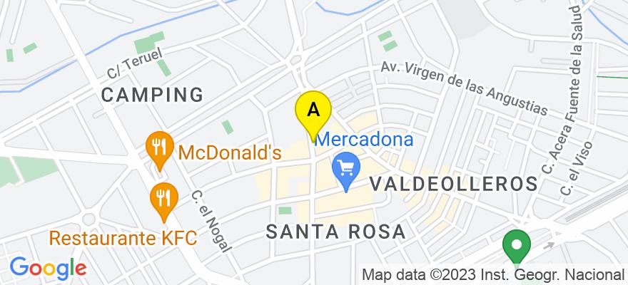 situacion en el mapa de . Direccion: Avenida Cruz de Juárez, 24-3º-D, 14006 Córdoba. Córdoba