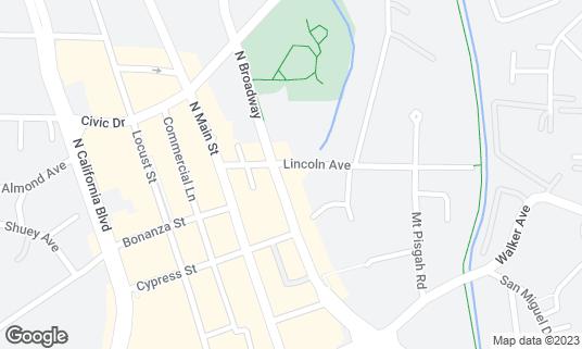 Map of Maria Maria at 1470 N Broadway Walnut Creek, CA