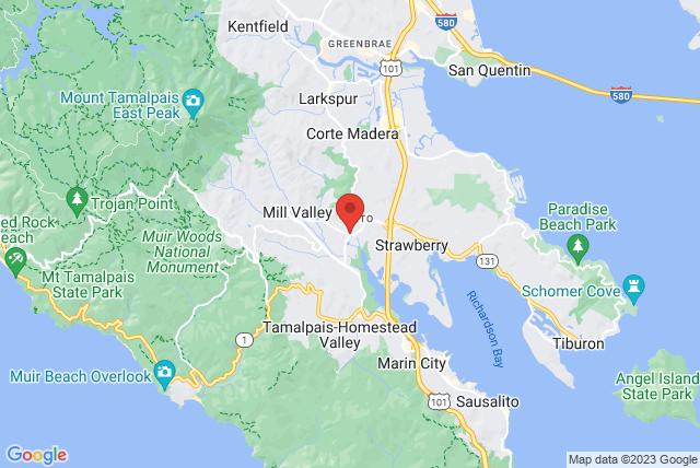 Mill Valley Health Club & Spa Map