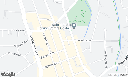 Map of The Stadium Pub at 1420 Lincoln Ave Walnut Creek, CA