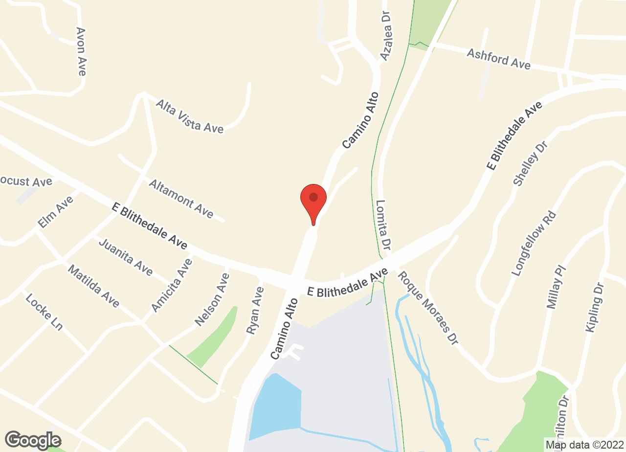 Google Map of VCA Tamalpais Animal Hospital