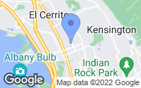 Map of El Cerrito, CA