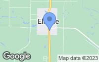 Map of Elkville, IL