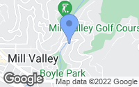 Map of Mill Valley, CA