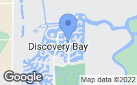 Map of Discovery Bay, CA