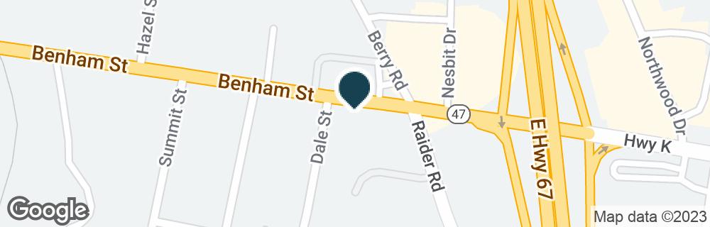 Google Map of903 BENHAM ST