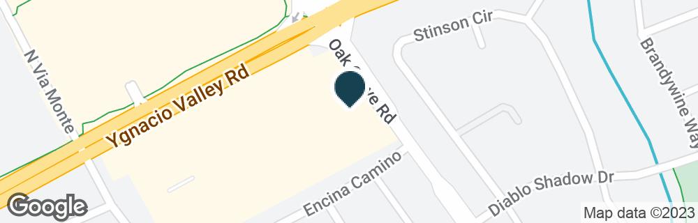 Google Map of2995 YGNACIO VALLEY RD