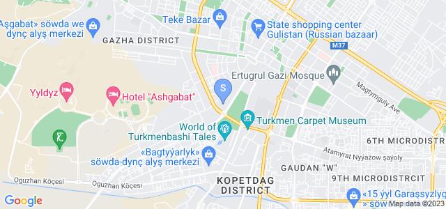 Location of Oguzkent on map