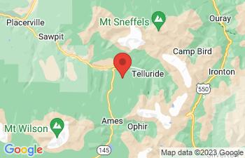 Map of Telluride