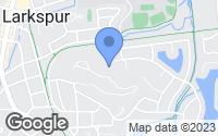 Map of Larkspur, CA