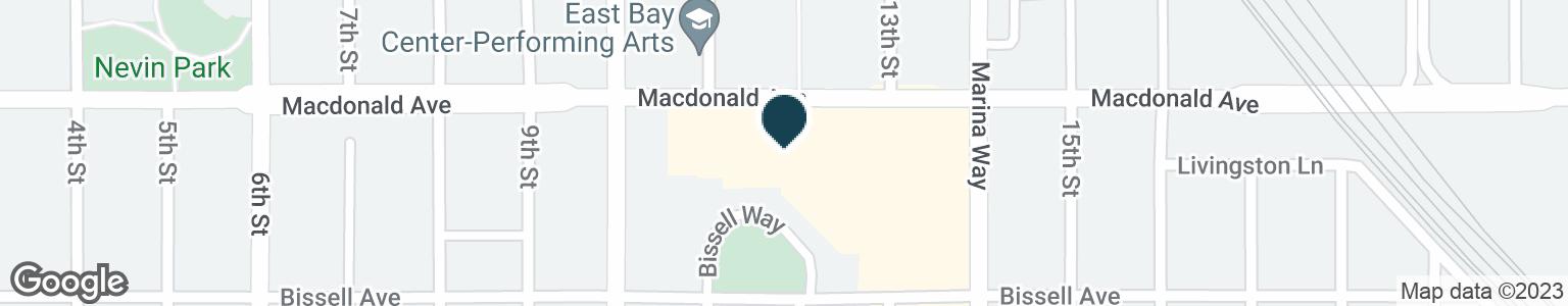 Google Map of1150 MACDONALD AVE