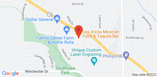 Directions to Los Arcos Mexican Food & Tequila Bar