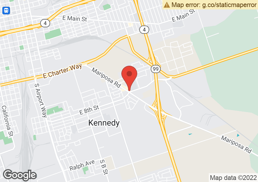 Google Map of 2040 E MARIPOSA RD