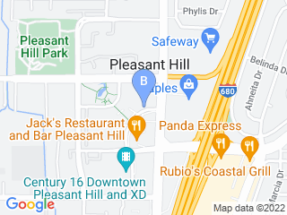 Map of Big Paw Pet Care Dog Boarding options in Pleasant Hill | Boarding