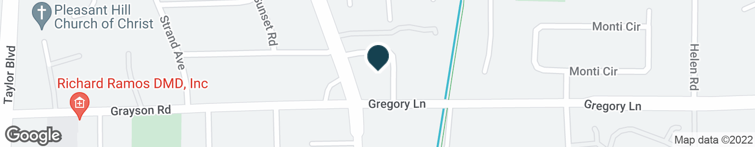Google Map of721 GREGORY LN
