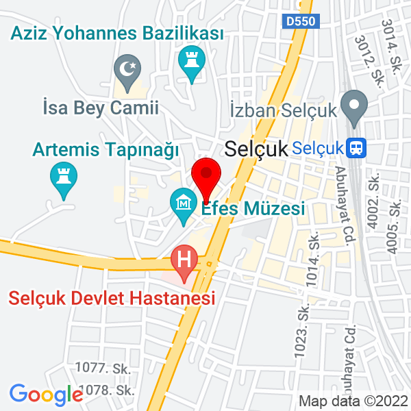 Alaturka Selçuk, İzmir Office Map