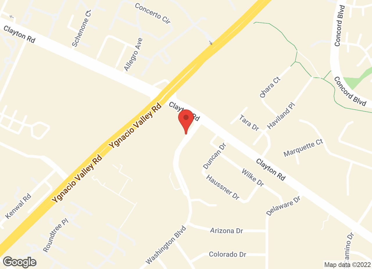 Google Map of VCA Monte Vista Animal Hospital