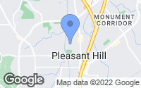 Map of Pleasant Hill, CA