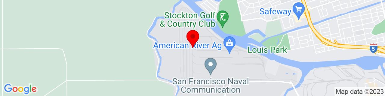 Google Map of 37.955823, -121.3677707