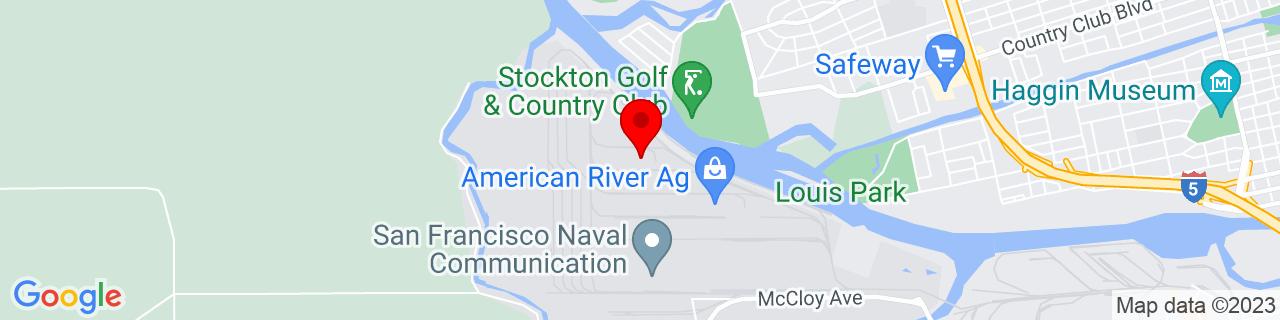 Google Map of 37.957654, -121.36365